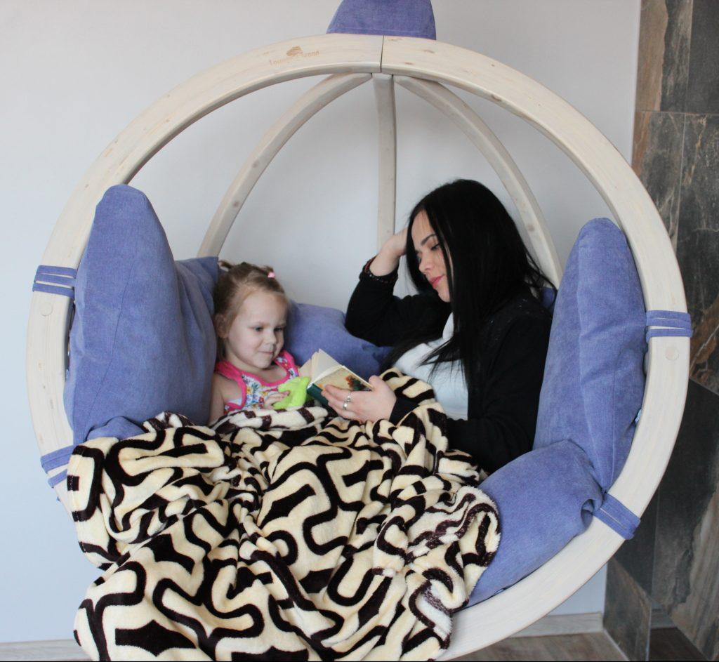детское подвесное кресло