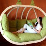 семейное подвесное кресло для двоих