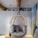 монтаж подвесного кресла к потолку